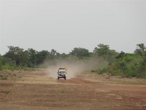 Op pad naar de hulpposten in Congo, Kikondja