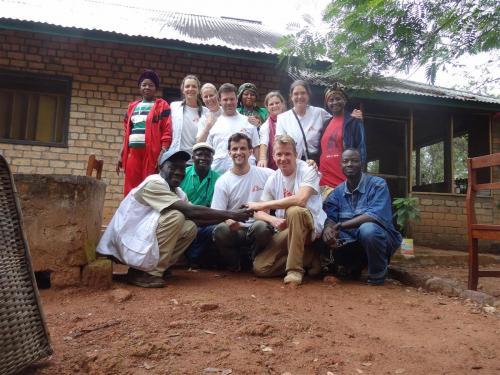 Het Artsen zonder Grenzen team in Boguila, CAR