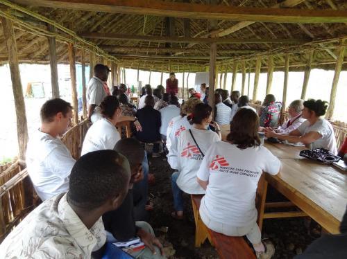 07:30 update aan lokaal Artsen zonder Grenzen team