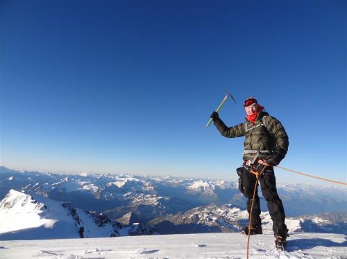 Top van de Mont Blanc 2015
