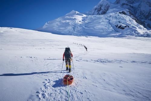 Denali beklimming met 60 kilo aan bagage 21 dagen op pad